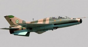 Nigerian Air Force Alpha jet deployed