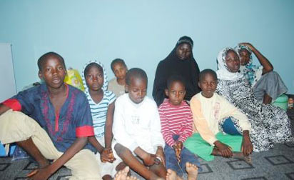 Women and children rescued from boko haram camp by the JTF