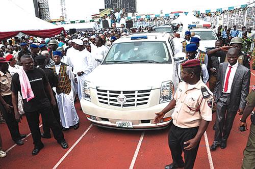 Arisekola Alao Funeral Procession
