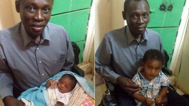 Sudanese family