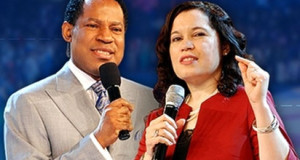 Pastor Christian Oyakhilome, and his wife, Rev. Anita Odegwa Oyakhilome