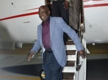 Asiwaju Bola Ahmed Tinubu returned to Lagos