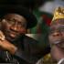 President Jonathan and Obasanjo
