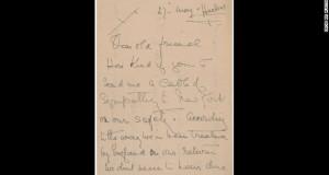 Titanic survivor's indignant letter