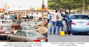 Fuel scarcity hits Lagos