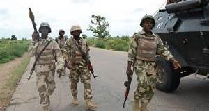 Nigerian Military Troops