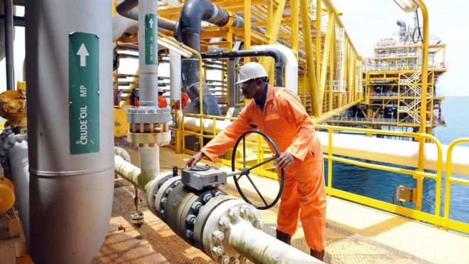Oil exporters such as Nigeria have been hit by the fall in commodity prices