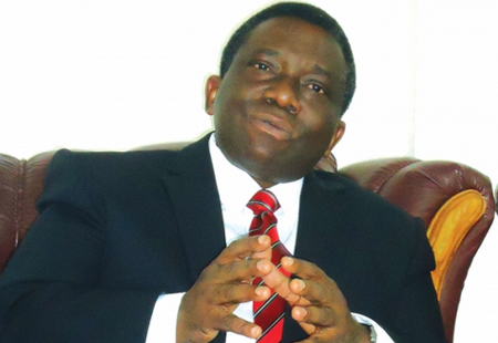 The Minister of Health Prof. Isaac Adewole