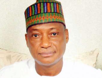 Minister of Defence, Brigadier-General Mansur Dan-Ali (retd)