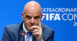 President of FIFA, Mr. Gianni Infantino