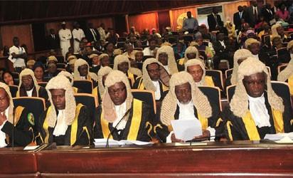 Image result for NJC refuses to suspend arrested Supreme Court Judges