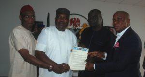 Gov. Ugwuanyi - award on infrastructural development