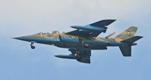 Nigerian fighter jet