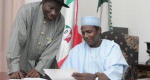 Yar'adua - Jonathan