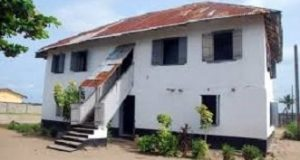 first storey building - Badagry