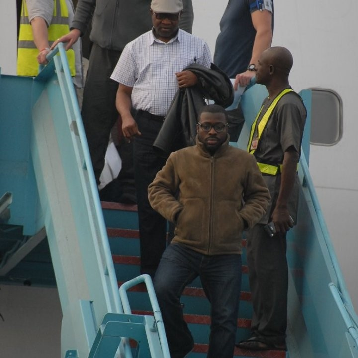 41 Nigerian UK deportees arrive Lagos Airport