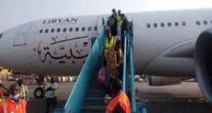 Nigerian deportees from Libya