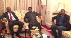Saraki, Dogara travel to London to meet Buhari