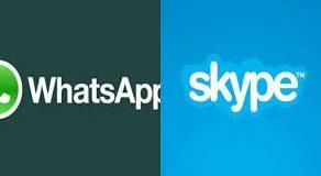 Skype - WhatsApp