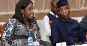 VP Yemi Osinbajo and Kemi Adeosun