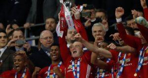 Zlatan brace wins League Cup for Man Utd