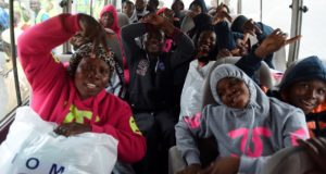 150 Nigerians stuck in Libya return home