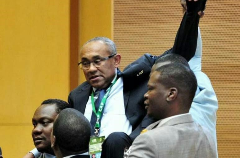 Image result for CAF: Nigerian govt congratulates Pinnick, Ahmad on victories