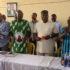 Gov. Ifeanyi Ugwuanyi of Enugu State with the Chairman of Udi Local Government Area, Hon. Hyacinth Ngwu