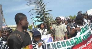 Protesters storm National Assembly over killer herdsmen