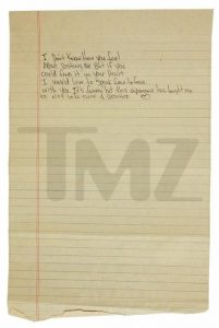 Tupac s break up letter to Madonna to fetch $100k on auction