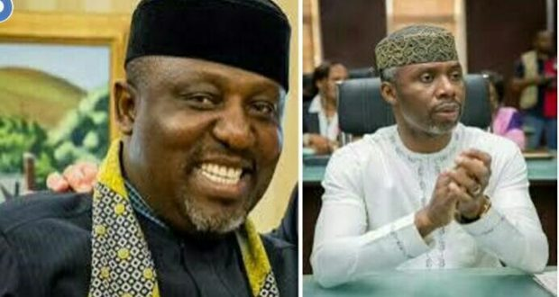 Image result for Governor Okorocha endorses son-in-law as successor