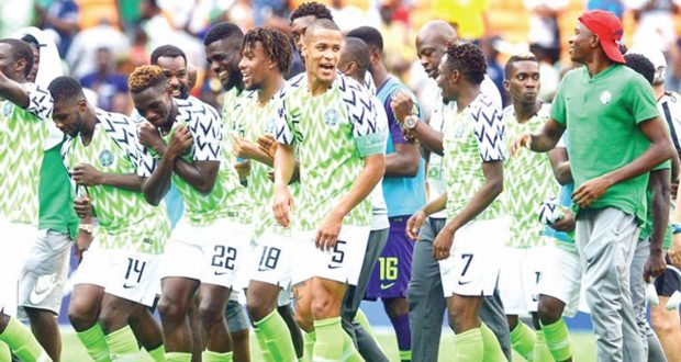 Super Eagles Move Up 12 Places In FIFA Ranking