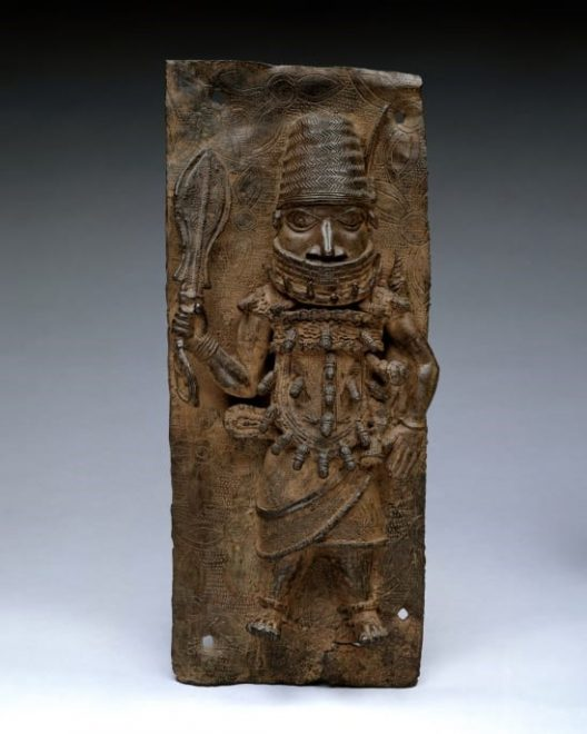 One of the artefacts looted from the Oba of Benin palace in 1897 to be sent back to Nigeria