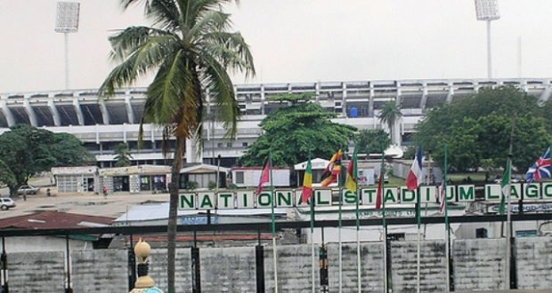 Image result for National Stadium, Lagos.
